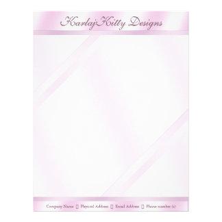 Pink Reflection Letterhead