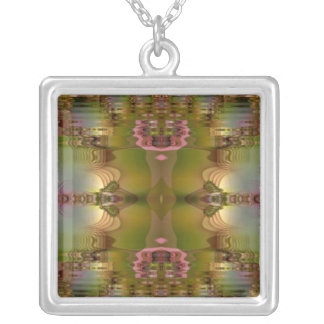 Pink Reflection Necklace