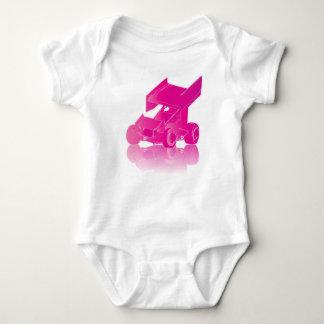Pink Reflection Winged Sprint Car Shirt