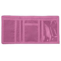 Pink Retro 1980s Style Rainbow Velcro Wallet