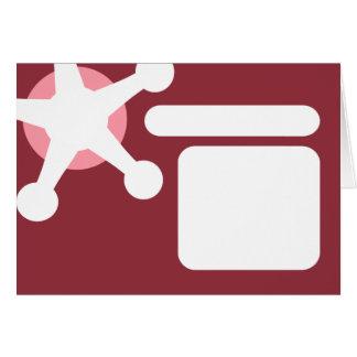 pink retro jax. card