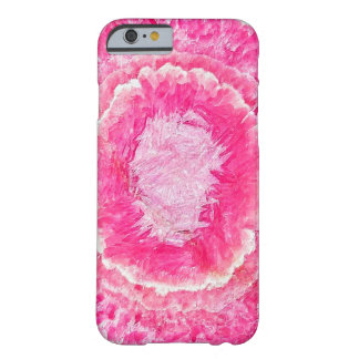 Pink Rhodochrosite Gemstone Barely There iPhone 6 Case