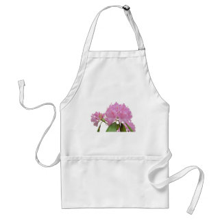 Pink Rhododendron Flowers Adult Apron