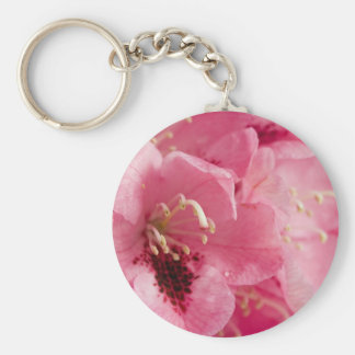 Pink Rhododendron Key Chain