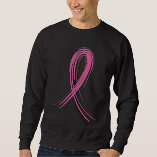 Pink Ribbon 2 Breast Cancer Sweatshirt