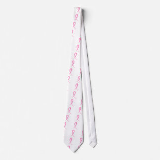 Pink Ribbon 2 Breast Cancer Tie