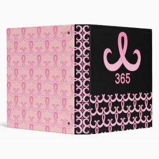 Pink Ribbon 365 3 Ring Binder