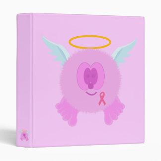 Pink Ribbon Angel Binder