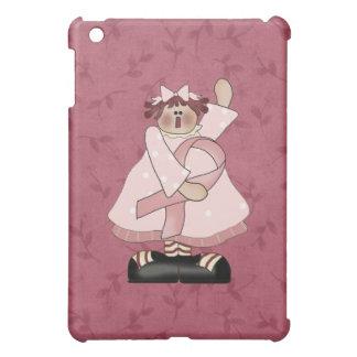 Pink Ribbon Annie  iPad Mini Covers