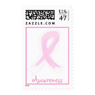 Pink Ribbon Awareness Postage