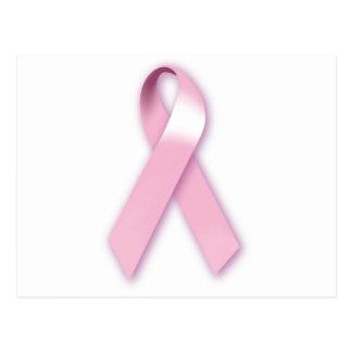 Pink Ribbon Awareness Postcard