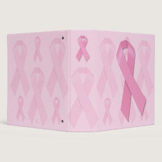 Pink Ribbon Binder