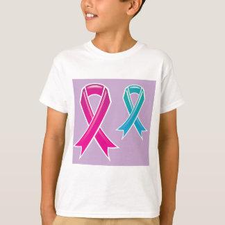 Pink Ribbon Blue Ribbon T-Shirt