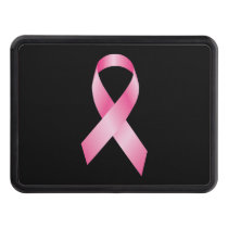 Pink Ribbon - Breast Cancer Awareness Hitch Cover