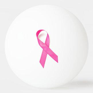 Pink Ribbon Breast Cancer Awareness Ping Pong Ball