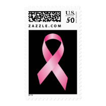 Pink Ribbon - Breast Cancer Awareness Postage