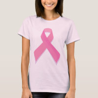 Pink Ribbon - Breast Cancer Awareness T-Shirt