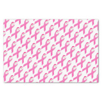 Pink Ribbon Breast Cancer Awareness Tissue Paper
