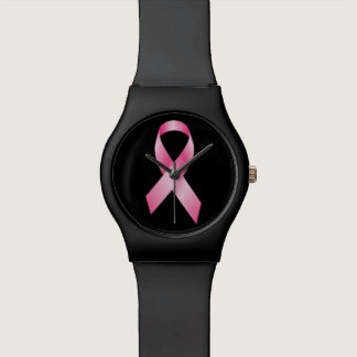 Pink Ribbon - Breast Cancer Awareness Wristwatch