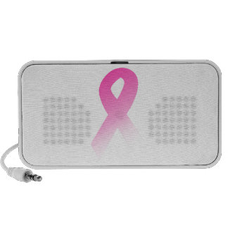 Pink Ribbon Breast Cancer Awarness iPod Speaker