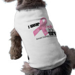 Pink Ribbon Breast Cancer Cure Dog Clothes