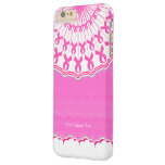 Pink Ribbon Breast Cancer Support Barely There iPhone 6 Plus Case