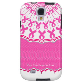 Pink Ribbon Breast Cancer Support Samsung Galaxy S Galaxy S4 Case