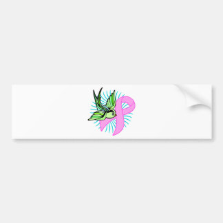 Pink Ribbon Bumper Sticker