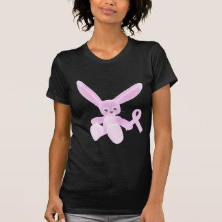 Pink Ribbon Bunny Tee Shirt