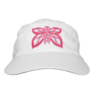 Pink Ribbon Butterfly - Cap