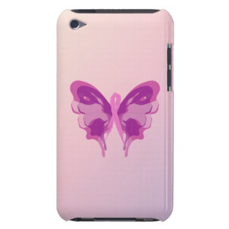 PINK RIBBON BUTTERFLY iPod TOUCH Case-Mate CASE