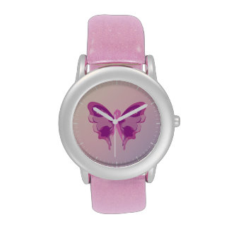 PINK RIBBON BUTTERFLY WRISTWATCHES
