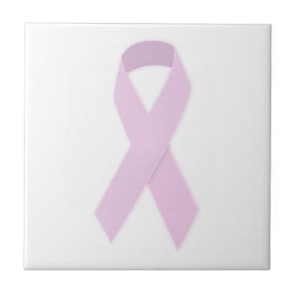 PINK RIBBON CAUSES MEDICAL ILLNESSES BREAST CANCER CERAMIC TILES