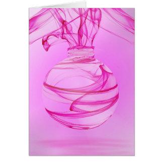 Pink Ribbon Celebration 3 Greeting Card