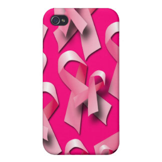 PINK RIBBON COLLAGE  iPhone 4 CASES