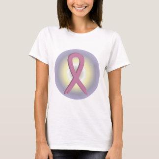 Pink Ribbon Colorful Breast Cancer Awareness T-Shirt
