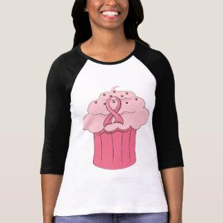 Pink Ribbon Cupcake Breast Cancer Tshirt