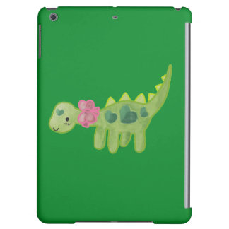 Pink Ribbon Dino Cover For iPad Air