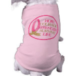 Pink Ribbon Dog Shirt
