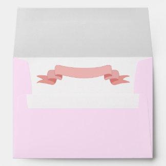 Pink Ribbon Envelope
