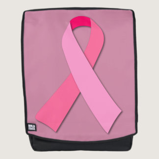 Pink Ribbon for Breast Cancer Awareness Backpack