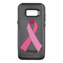 Pink Ribbon for Breast Cancer Awareness OtterBox Commuter Samsung Galaxy S8  Case
