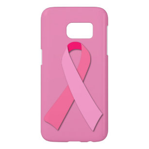 Pink Ribbon for Breast Cancer Awareness Samsung Galaxy S7 Case