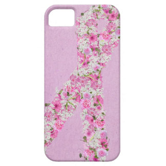 Pink Ribbon for Breast Cancer survivor iPhone SE/5/5s Case