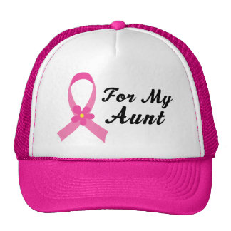 Pink Ribbon For My Aunt Hat