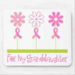 Pink Ribbon For My Granddaughter Mouse Pad