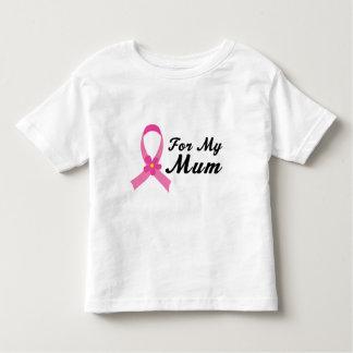 Pink Ribbon For My Mum Tee Shirt