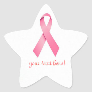 Pink Ribbon Fund Raiser Stickers