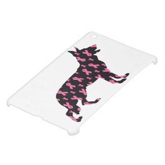 Pink Ribbon German Shepherd iPad Mini Cover