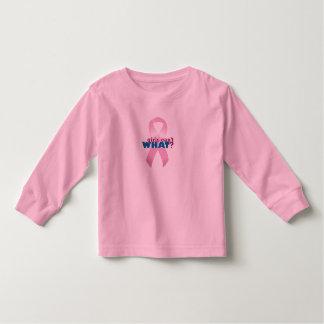 Pink Ribbon Girls Can't WHAT? Toddler T-shirt
